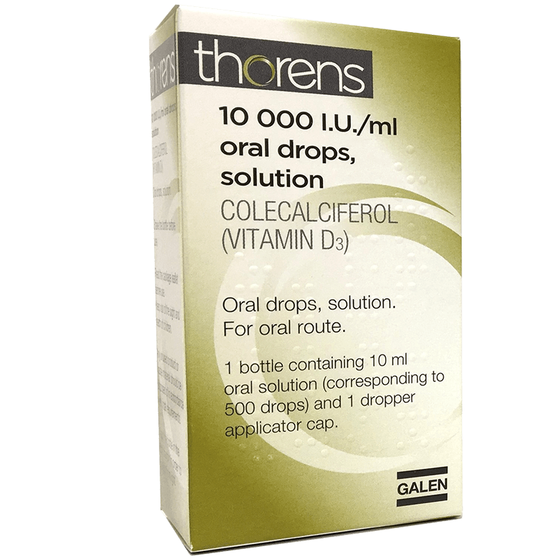 Thorens® 10,000 I.U./ml oral drops, solution